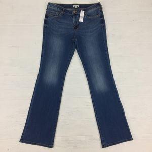 New York & Company Dark Blue Bootcut Jeans Pants
